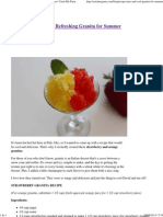 {RECIPE} Tasty and Refreshing Granita for Summer _ Catch My Party