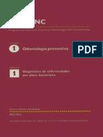 Curso I Odontología Preventiva. Módulo 1 Diagnóstico de Enfermedades Por Placa