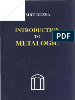 [Imre Ruzsa] Introduction to Metalogic With an AP(BookZa.org) (1)
