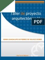 Taller de Proyecto Arquitectonico V
