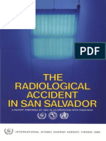 The Radiological Accident in San Salvador