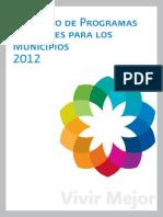 Catalogo de Programas Federales 2012