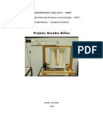 Projeto Gerador Eólico