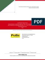 Descentralización y Desarrollo Regional en Chile. Una Mirada Desde La Sociedad