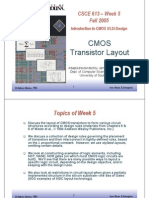 Cmos Transistor Layout