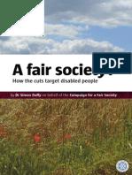 A Fair Society 2
