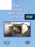The Radiological Accident in Lilo