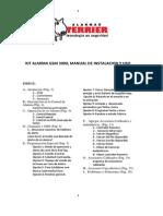 Manual Alarma Terrier-GSM200