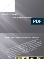 Acidós y Bases