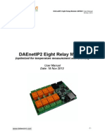 DAEnetIP2 Eight Relay Module