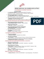 Palmarès du 16e Festival du cinéma de La Foa (2014)