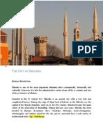 Description of the city of SHKODRA