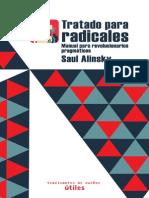 Tratado Para Radicales. Manual Para Revolucionarios Pragmaticos