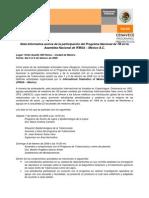 Nota Informativa ACSM - IFMSA