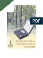 2000_Muestreo y Analisis Vegetal