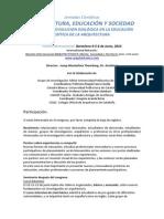Arquitectura- Educacion y Sociedad.sp