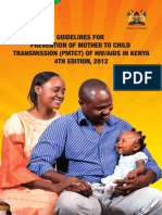 Guidelines for PMTCT of HIVAIDS in Kenya-1