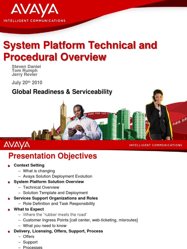 SystemPlatform System and Procedure Overview | Proprietary Software