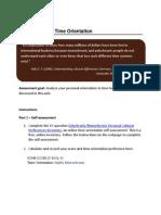 Intercultural Communication Assignment