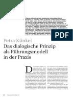Das Dialogische Prinzip P Kuenkel