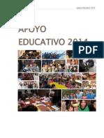 Planificación 2014 Programa Apoyo Educativo