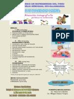Afiche Curso Primera Infancia
