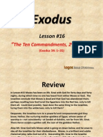 16. the Ten Commandments, 2nd Edition