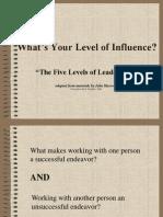 Leadership 6. Five Levels of Leadership