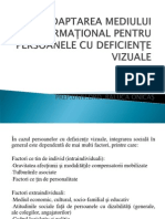 Adaptarea Mediului Informational pt. persoanele cu Deficiente Vizuale