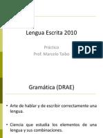 Gramatica Hasta El 13 de Abril