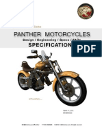 Panther Specs