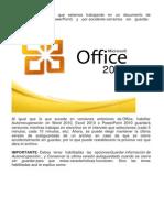 Recupera Tus Archivos de Office 2010 No Guardados