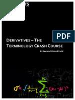 Derivatives Terminology Crash Course