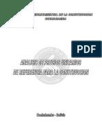 Analisis de Precios Unitarios Cadeco 2010