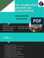 Sensores y Transmisores de Instrumentacion