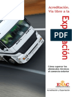 Exportacion Acreditada ENAC