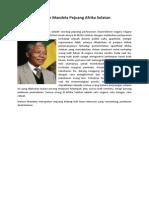 Nelson Mandela Pejuang Afrika Selatan - Tugas PAK VII - Copy.docx