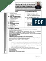 Resumen Curricular 2014