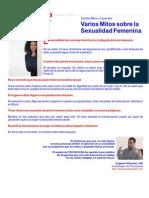 Varios Mitos Sobre La Sexualidad  Femenina