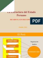 B. La Estructura Del Estado Peruano