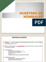 2 Muestreo de Minerales