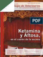 Ketamina y Aftosa
