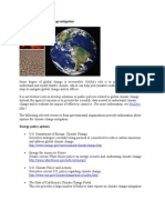 Resources on climate change mitigation