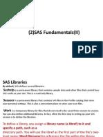 SAS Notes Part 3