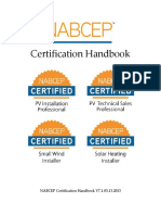 NABCEP Certification Handbook