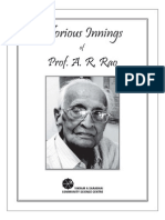 Glorious Innings of Prof.a R Rao