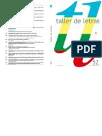 Taller de Letras Nadaismo Techo de La Ballena Neovanguardias