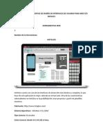 Revisión de Herramientas de Diseño de Interfaces de Usuario Para Web y