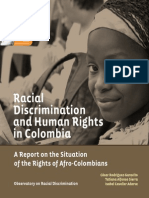 Racial Discrimination and Human Right - Colombia