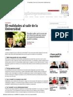 10 Realidades Al Salir de La Universidad _ SoyEntrepreneur